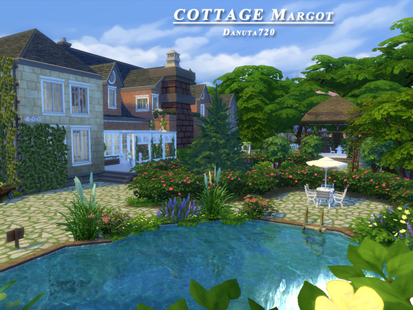 Sims 4 COTTAGE Margot by Danuta720 at TSR