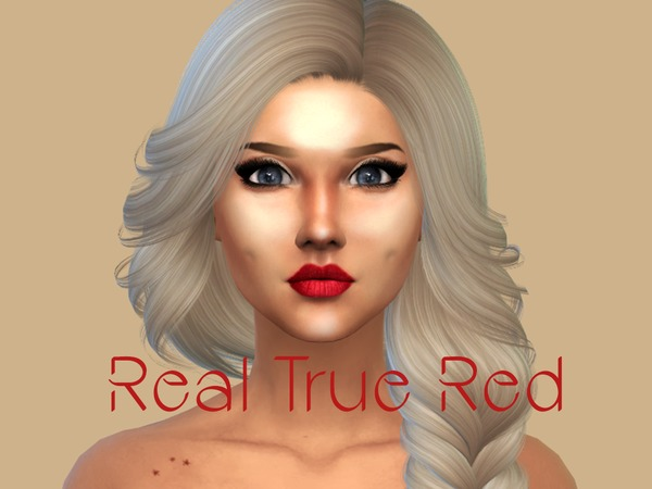 Sims 4 SUMMER QUEEN lipstick by Primrose Smith at TSR