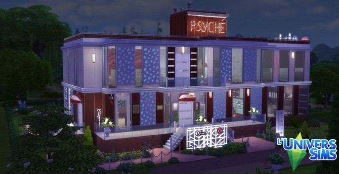 Psyché restaurant by Coco Simy at L'UniverSims image 1437 670x345 Sims 4 Updates