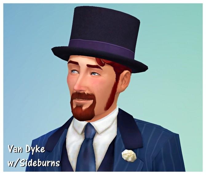 Sims 4 Discernibly Dashing Facial Hair Styles for Dudes at SimDoughnut