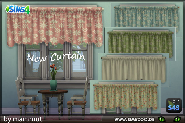 Curtain Country 3 by mammut at Blacky's Sims Zoo image 1454 Sims 4 Updates