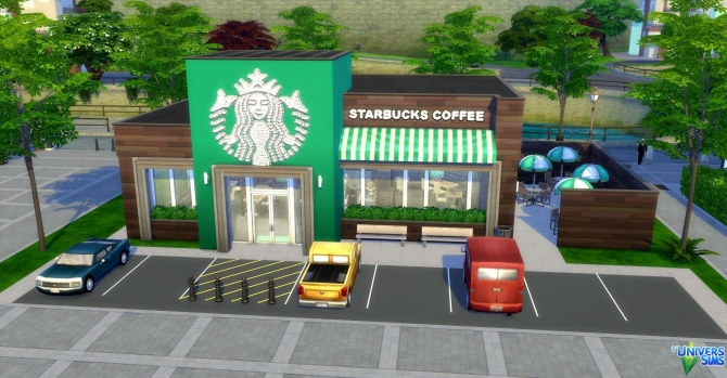 Starbucks Coffee By Audrcami At L Universims 187 Sims 4 Updates