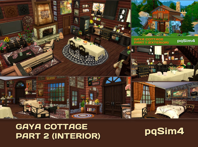 Gaya Cottage Part 2 (Interior) by Mary Jiménez at pqSims4 image 14915 Sims 4 Updates