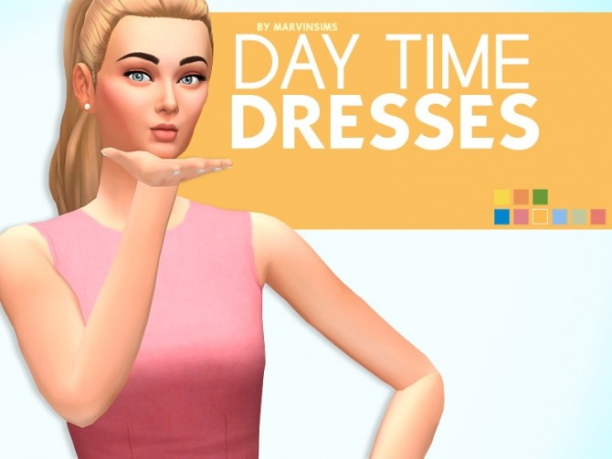 Day Time Dresses at Marvin Sims image 1497 670x503 Sims 4 Updates
