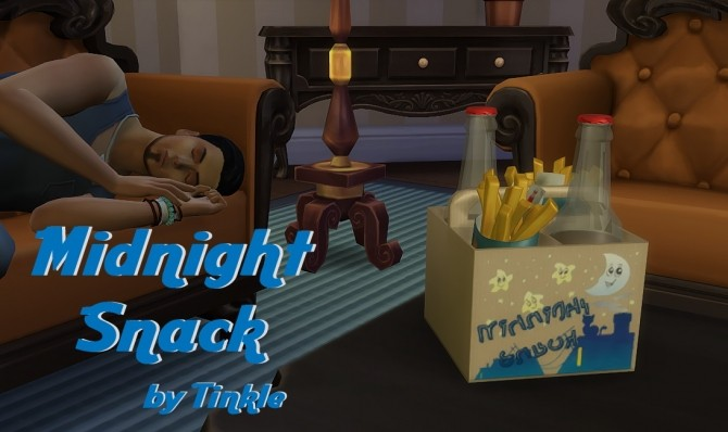 Sims 4 Midnight Snack at Tinkerings by Tinkle