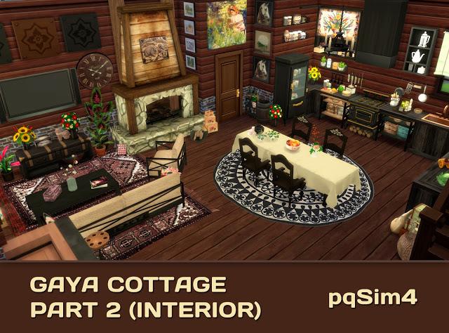 Gaya Cottage Part 2 (Interior) by Mary Jiménez at pqSims4 image 15014 Sims 4 Updates