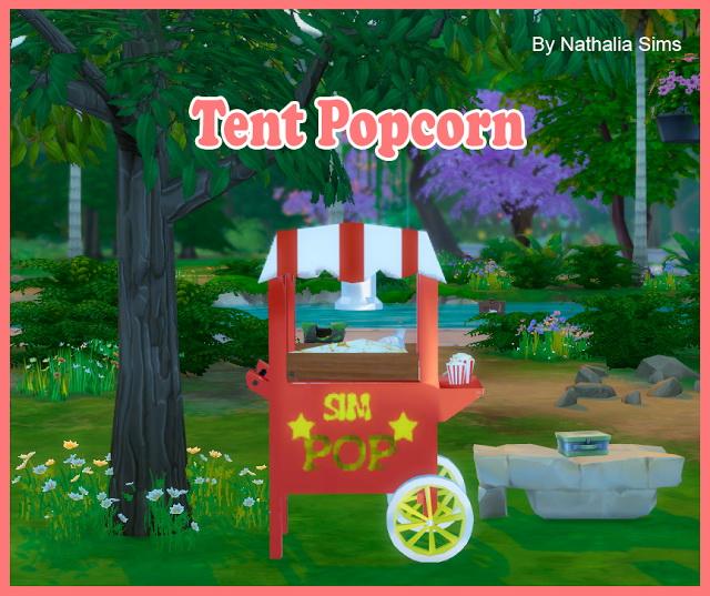 Sims 4 Tent Popcorn Conversion 2t4 at Nathalia Sims