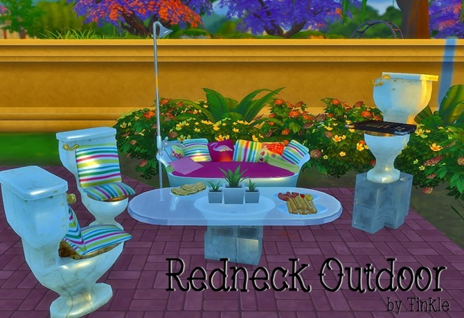 Sims 4 Redneck Outdoor at Tinkerings by Tinkle