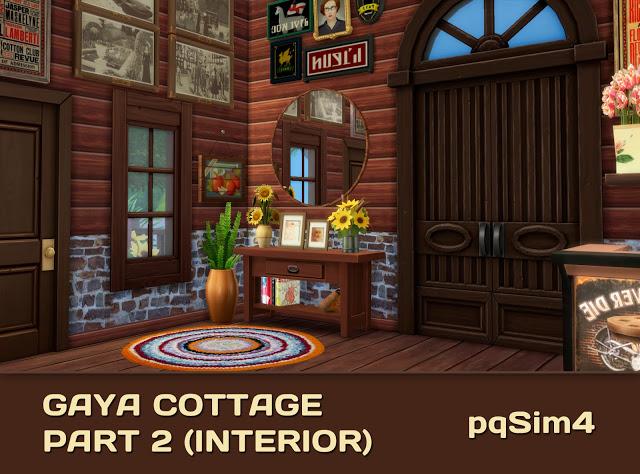 Gaya Cottage Part 2 (Interior) by Mary Jiménez at pqSims4 image 15118 Sims 4 Updates