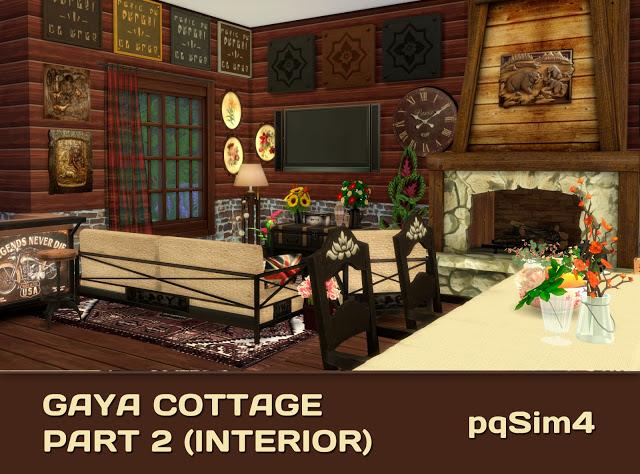 Gaya Cottage Part 2 (Interior) by Mary Jiménez at pqSims4 image 15216 Sims 4 Updates