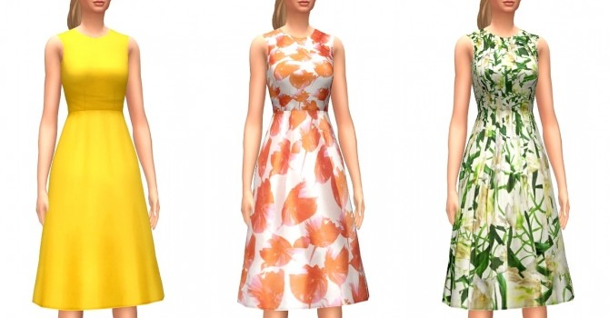 Day Time Dresses at Marvin Sims image 1525 670x350 Sims 4 Updates