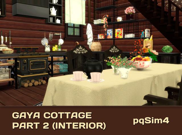 Gaya Cottage Part 2 (Interior) by Mary Jiménez at pqSims4 image 15313 Sims 4 Updates