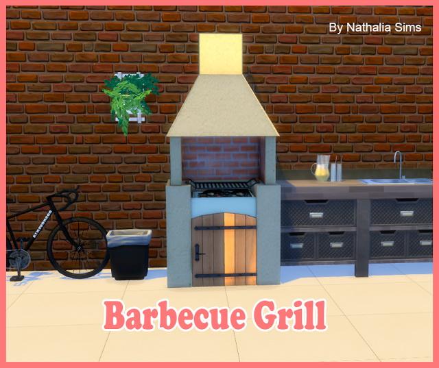 Sims 4 Barbecue Grill Conversion 2t4 at Nathalia Sims