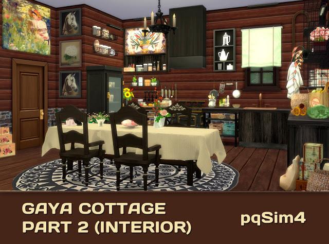Gaya Cottage Part 2 (Interior) by Mary Jiménez at pqSims4 image 15412 Sims 4 Updates