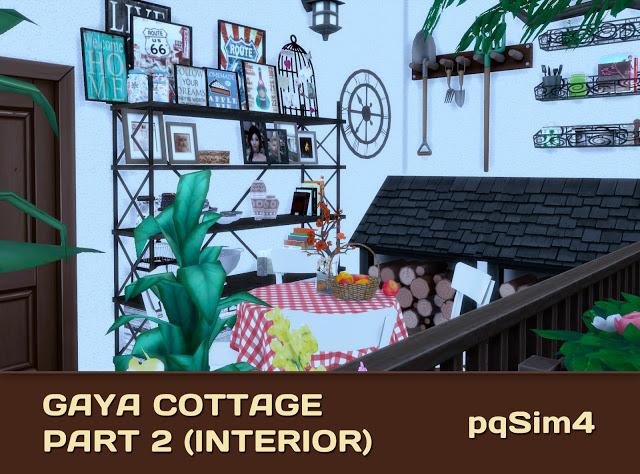 Gaya Cottage Part 2 (Interior) by Mary Jiménez at pqSims4 image 15513 Sims 4 Updates