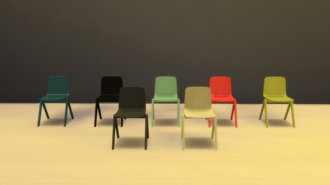 Sims 4 Copenhague Chair (Pay) at Meinkatz Creations