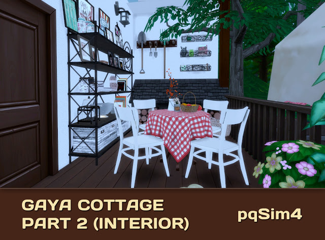Gaya Cottage Part 2 (Interior) by Mary Jiménez at pqSims4 image 15613 Sims 4 Updates