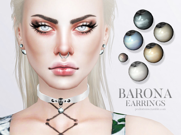 Barona Earrings by Pralinesims at TSR image 1570 Sims 4 Updates