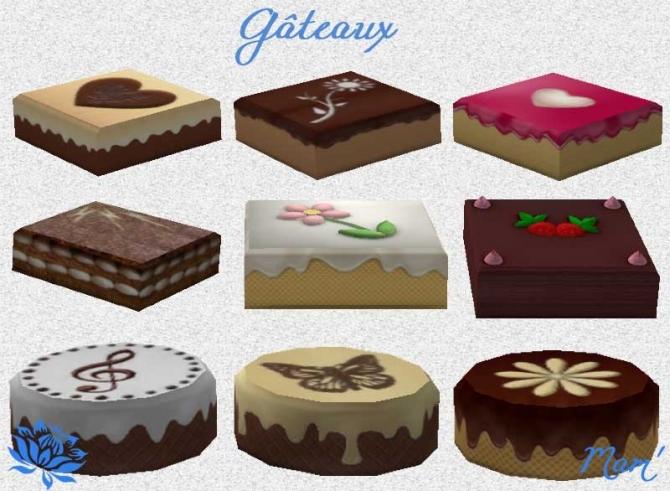 Culinary Pleasures bake set by Maman Gateau at Sims