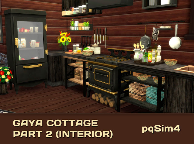 Gaya Cottage Part 2 (Interior) by Mary Jiménez at pqSims4 image 15713 Sims 4 Updates