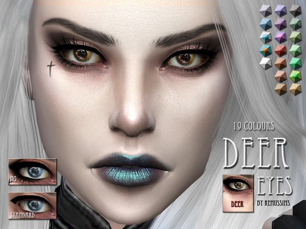 Deer eyes by RemusSirion at TSR image 1590 Sims 4 Updates