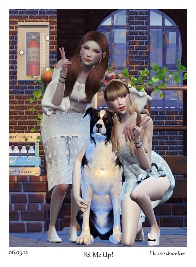 PET ME UP Poses Sets at Flower Chamber image 1631 670x910 Sims 4 Updates