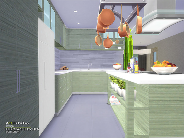 Euroface Kitchen by ArtVitalex at TSR image 1650 Sims 4 Updates