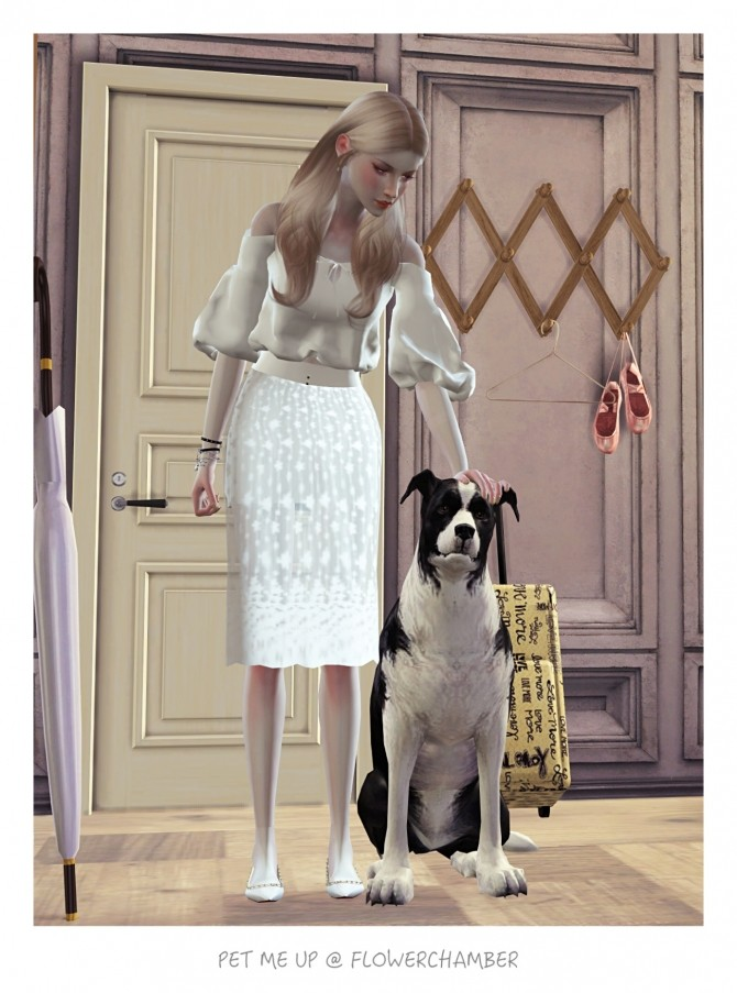 PET ME UP Poses Sets at Flower Chamber image 1651 670x903 Sims 4 Updates