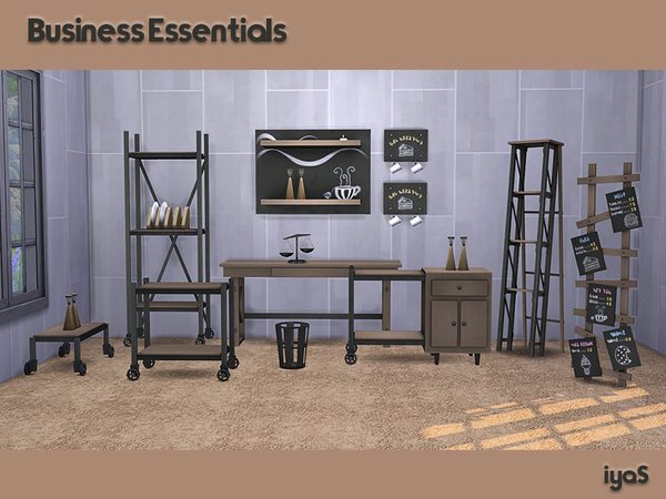 Business Essentials by soloriya at TSR image 1660 Sims 4 Updates