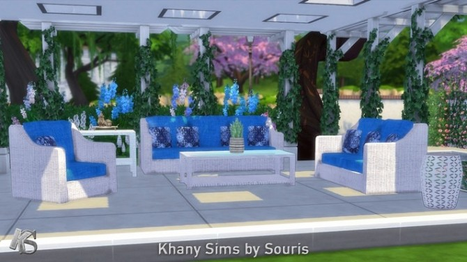Sims 4 Nice livingroom by Souris at Khany Sims