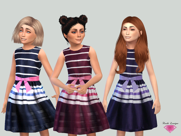 Lea dress by Karla Lavigne at TSR image 1680 Sims 4 Updates
