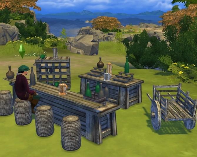 Sims 4 SKYRIM Market 115 items at Mara45123