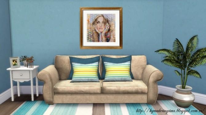 Couleur fleur et femme paintings at Kyma Desingsims S4 image 17611 670x377 Sims 4 Updates