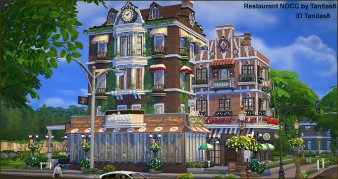 Restaurant NOCC at Tanitas8 Sims image 1784 670x356 Sims 4 Updates