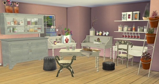 Sims 4 Steffor for TS4 set by Ilona at My little The Sims 3 World
