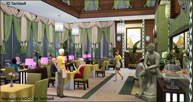 Restaurant Nocc At Tanitas8 Sims 187 Sims 4 Updates