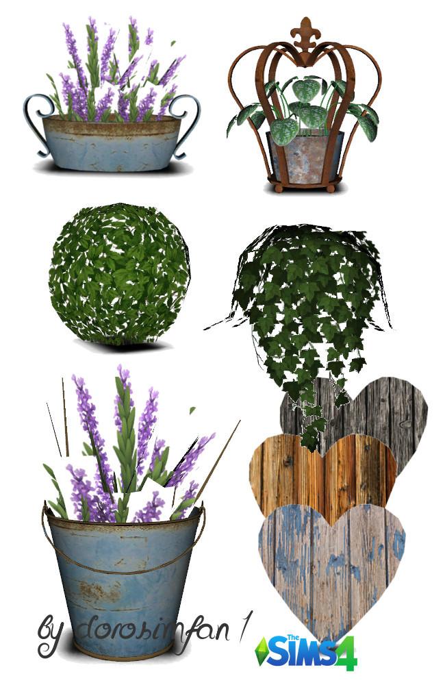 Flower shop set 18 new meshes by dorosimfan1 at Sims Marktplatz image 18115 650x1000 Sims 4 Updates