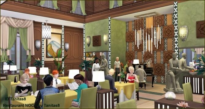 Restaurant NOCC at Tanitas8 Sims image 1818 670x356 Sims 4 Updates