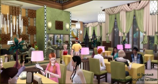 Sims 4 Restaurant NOCC at Tanitas8 Sims