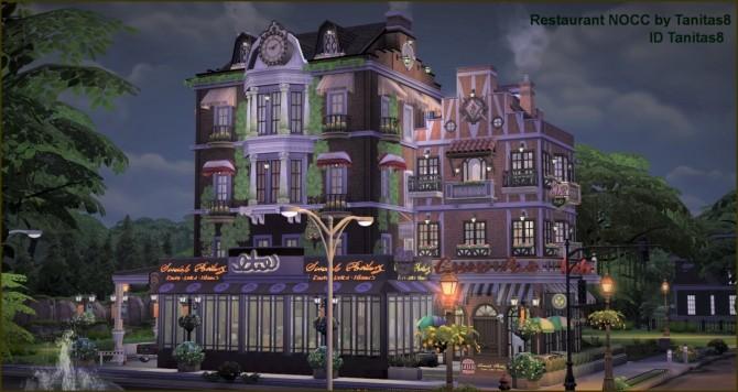Restaurant NOCC at Tanitas8 Sims image 1853 670x356 Sims 4 Updates