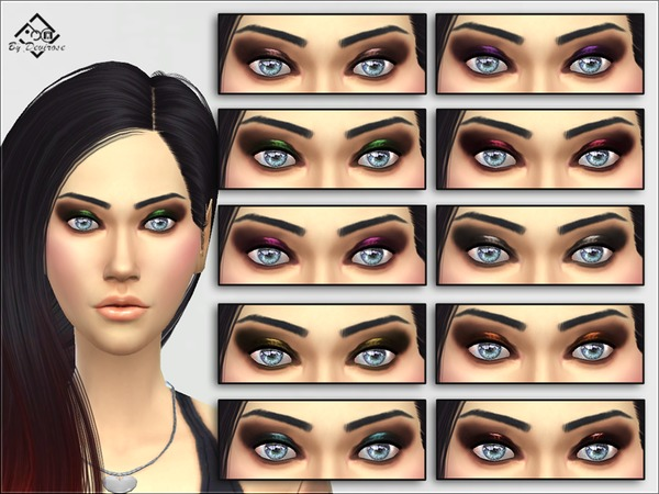 Smoky Chic Eyeshadow by Devirose at TSR image 1870 Sims 4 Updates