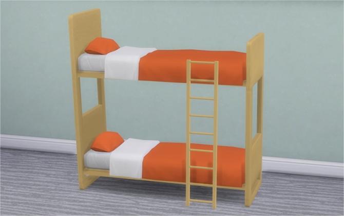 Ul Dorm Amp Contrast Bunk Bed Frames At Veranka 187 Sims 4 Updates