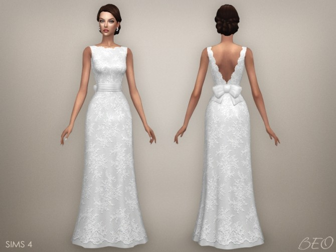 WEDDING DRESS ELLIE at BEO Creations image 1898 670x503 Sims 4 Updates