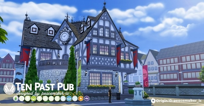 Windenburg Makeover Community Lot Dump at Simsational Designs image 19115 670x349 Sims 4 Updates