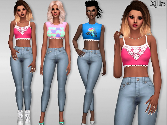 Sims 4 S4 Coolio Outfit by Margeh75 at Sims Addictions