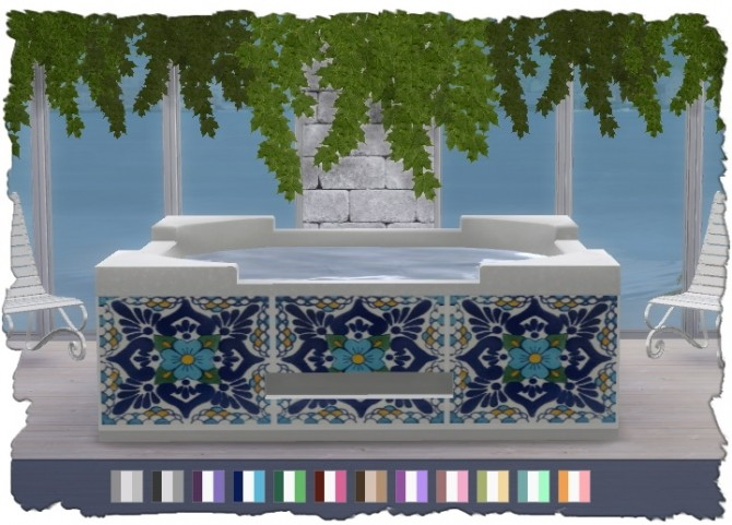 Hot Tub Recolors at Pixel Shrine – Devilicious image 19410 670x481 Sims 4 Updates