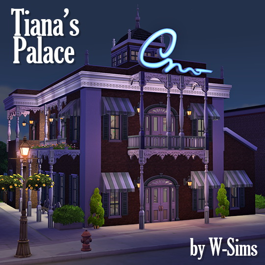 Tiana's Palace Restaurant at W Sims image 1965 Sims 4 Updates