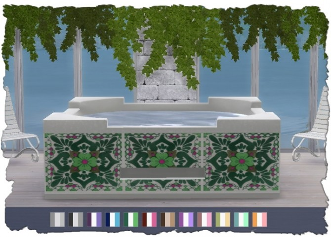 Hot Tub Recolors at Pixel Shrine – Devilicious image 1969 670x481 Sims 4 Updates
