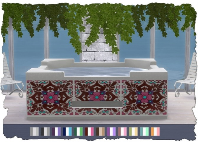 Hot Tub Recolors at Pixel Shrine – Devilicious image 1979 670x481 Sims 4 Updates