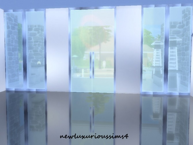Double glass doors at new luxurious sims 4 187 sims 4 updates